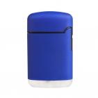 Зажигалка Zenga, турбо, многоразовая, синяя