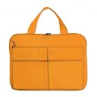 """Конференц-сумка """"Тодес"""" с отделением для ноутбука, оранжевый, ; 35х26x2,5 см; полиэстер 600D; шелког"""