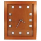 Часы настенные; 28,5х34,8х2,5 см; дерево, металл; лазерная гравировка, шильд