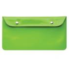 """Бумажник дорожный """"HAPPY TRAVEL"""", зеленый, 23.5*12.5 см, ПВХ, тампопечать, шелкография"""