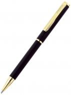 Ручка шариковая Imatra Gold, черная