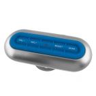 FM-радио для душа; 15х6х5 см; пластик; тампопечать