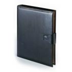 Папка с кольцевым зажимом и застежкой Windsor, черный, 260х315 мм